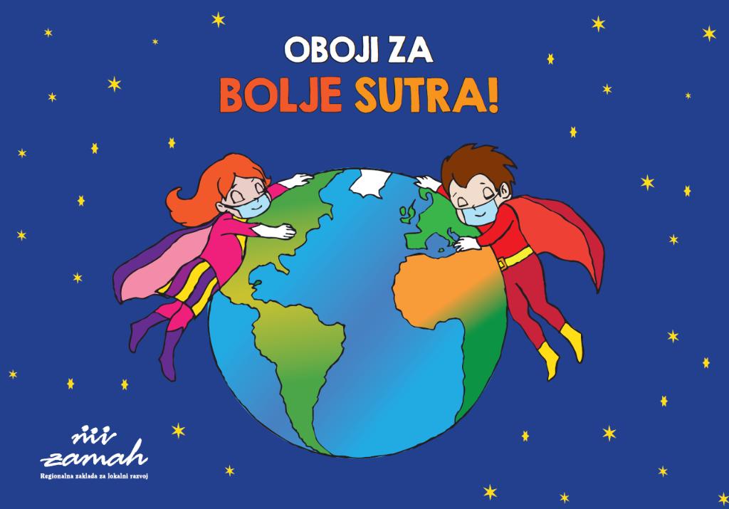 """Bojanka """"Oboji za bolje sutra"""" uskoro dostupna za svu djecu diljem Hrvatske"""